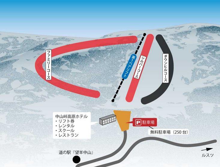 年末年始 北海道のスキー場 おすすめ 中山峠スキー場