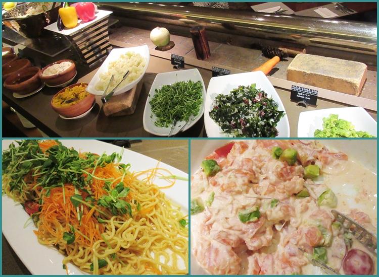 ニセコ ヒルトン レストラン 料金 口コミ 夕食 食べ放題 サラダ