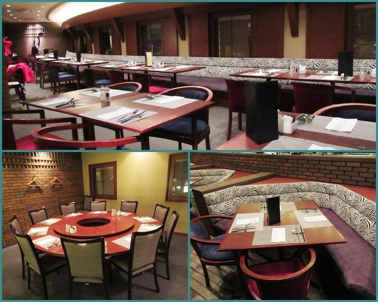 ニセコ ヒルトン レストラン 料金 夕食 食べ放題 テーブル