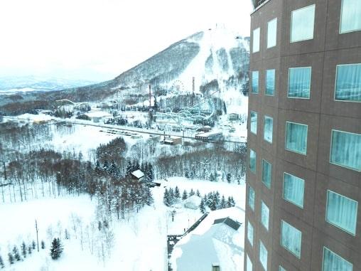 ルスツ ウェスティン ホテル 部屋 ブログ 遊園地 スキー場