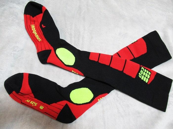 スノーボード ソックス  着圧靴下 CEP メリノウール 高級 疲労 効果