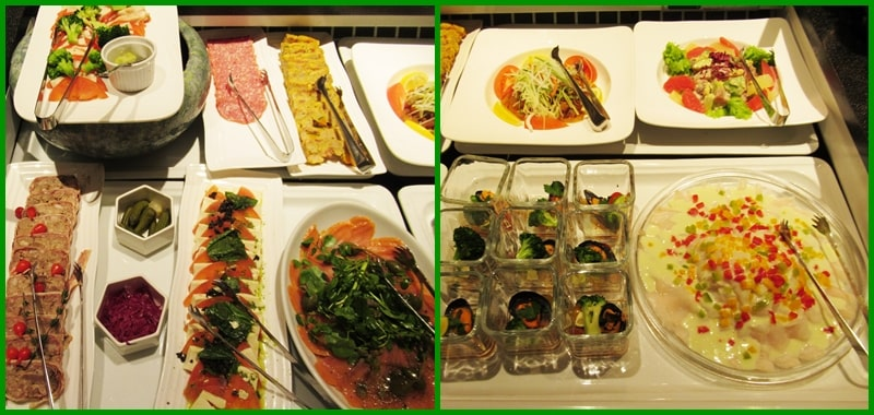 ルスツ 食事 ウェスティンホテル バイキング 前菜 おすすめ アトリウム 口コミ 値段 料金 メニュー