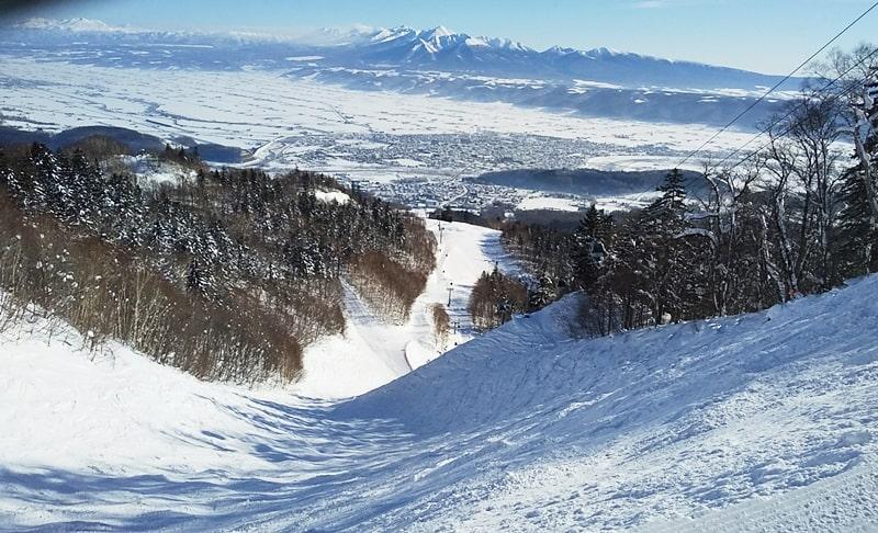 富良野スキー場 フリコ沢コース 口コミ ツアー アクセス