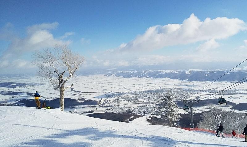 富良野スキー場をチェック!!