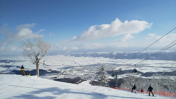 富良野スキー場 リフト券 割引き 景色 積雪 コース 口コミ アクセス