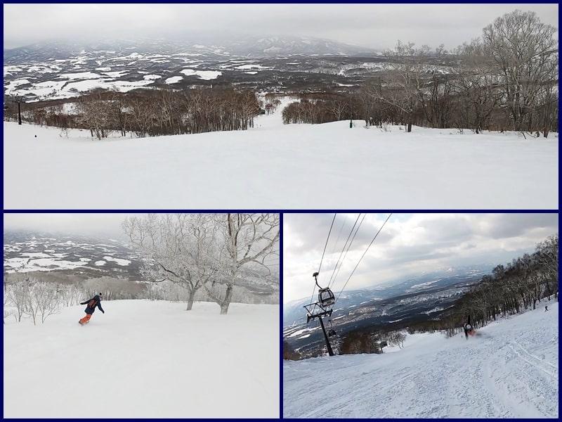 ニセコスキー場 林間コース  全山リフト券割引 ホテル