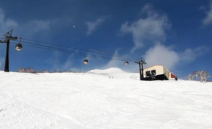ニセコアンヌプリ国際スキー場 コース ゴンドラ 積雪 天気 リフト券割引 ホテル