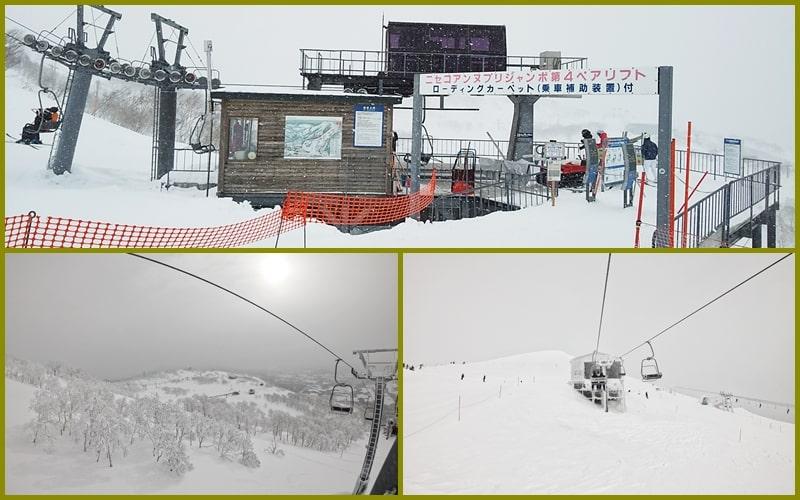 ニセコアンヌプリ国際スキー場 コース 山頂 リフト ゲート 積雪 天気 リフト券 ホテル