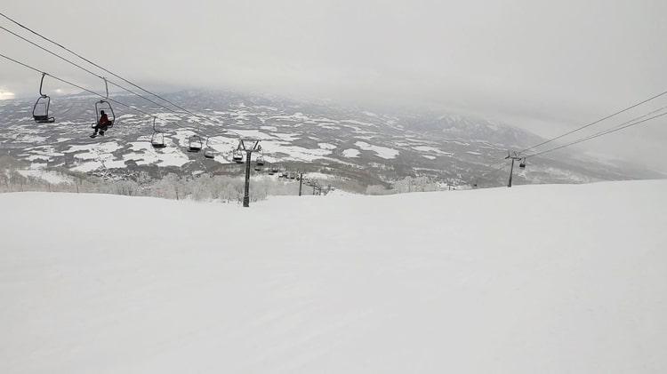 ニセコスキー場 コース 天気 全山リフト券 ホテル