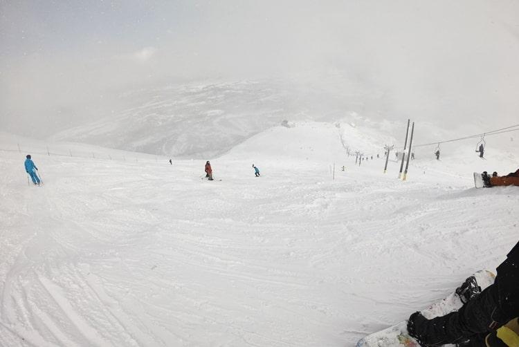 ニセコアンヌプリ国際スキー場 コース ビレッジ 積雪 天気 全山リフト券 ホテル