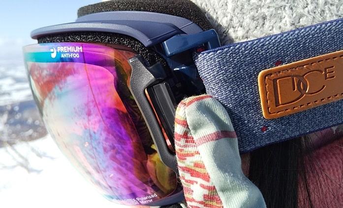 曇らないゴーグル ダイス バンク スキー スノーボード おすすめ 喚起