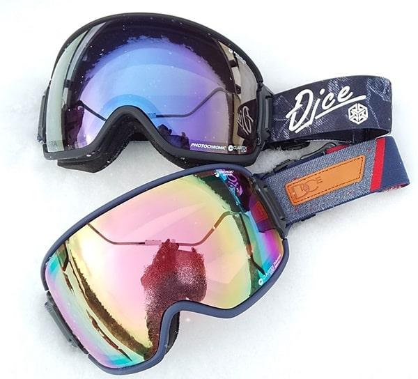 曇らないゴーグル DICE BANK レンズ スキー スノーボード おすすめ