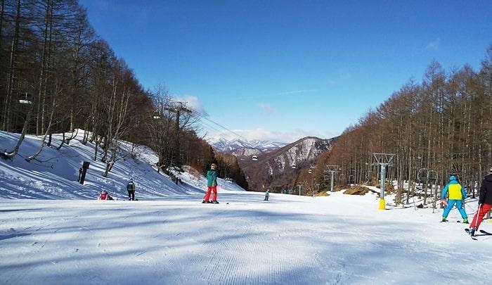 丸沼スキー場,ツアー,初級者コース,バイオレットコース,温泉,レンタル,宿泊,