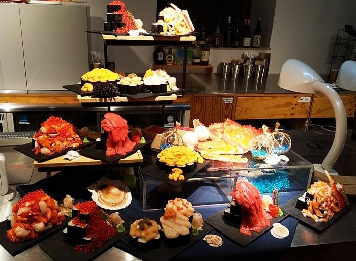 トマム ホタルストリート 海鮮こぼれ寿司 お店 メニュー 値段 おすすめ