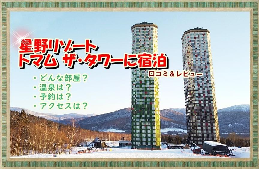 星野リゾートトマム ホテル タワー 北海道 部屋 宿泊 予約