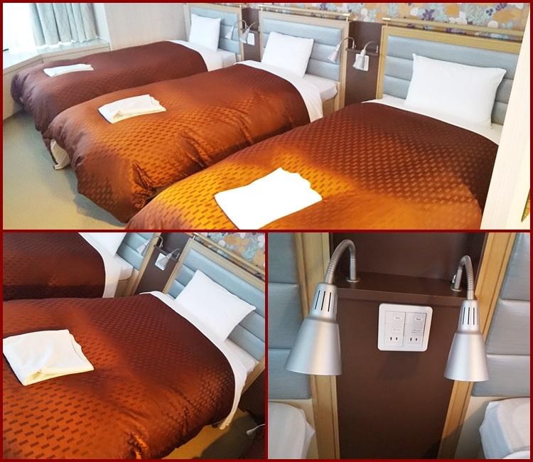 星野リゾートトマム,ホテル,ザ・タワー,ベッド